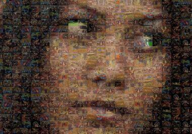 buat foto kamu menjadi foto mozaic