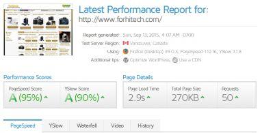 Website Performance Speed Load Menjadi Cepat