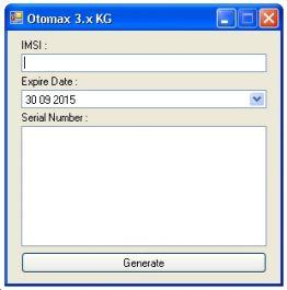 berikan Serial Number Otomax