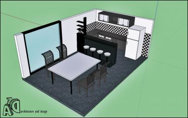 mengedit model 3D sederhana di skecth-up