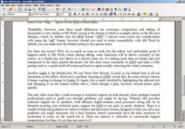 mengetik naskah apapun di ms word
