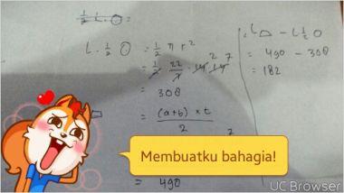 menjawab soal matematika fisika dan kimia untuk SD sampai SMA