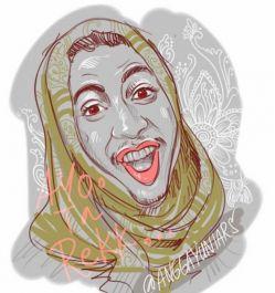 membuatkan Sketsa Portrait anda dengan cepat menggunakan aplikasi autodesk Sketchbook pro