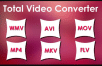 Konvert all video to all format and all audio