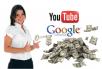 Ajarkan Cara Membuat YOUTUBE ADSENSE ACCOUNT dan Mengajarkan Menghasilkan $50 Pasive Income per Hari dari Youtube Adsense